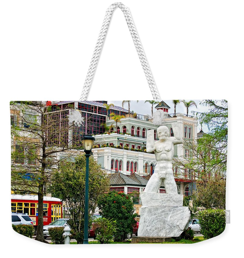Mississippi River Weekender Tote Bag featuring the photograph Old Man River by Steve Harrington