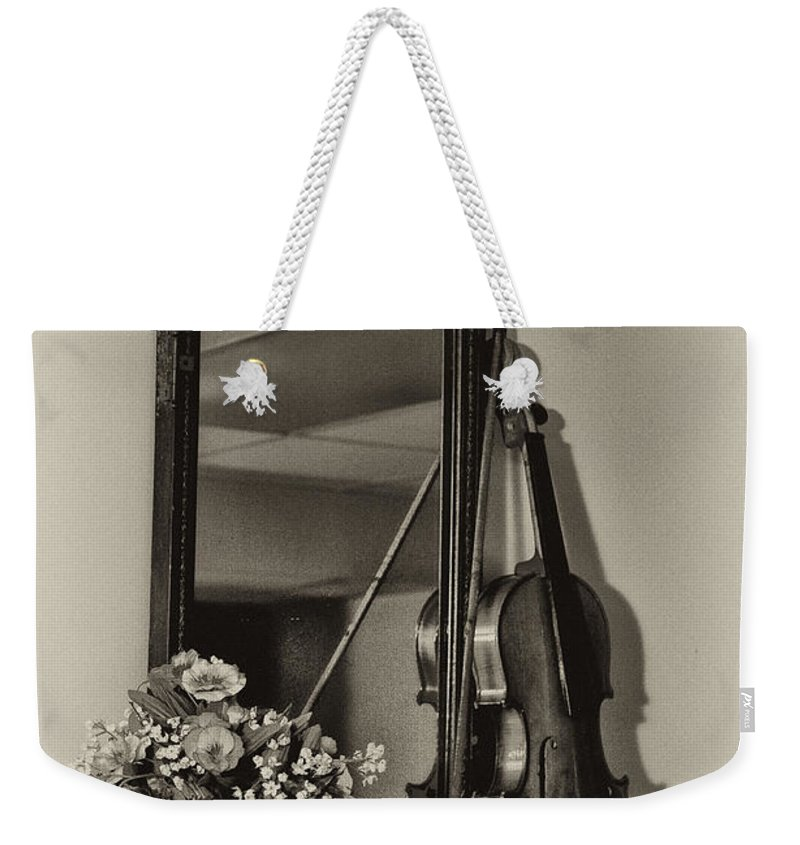 Old Time Music Weekender Tote Bag featuring the photograph Old Time Music by Bill Cannon
