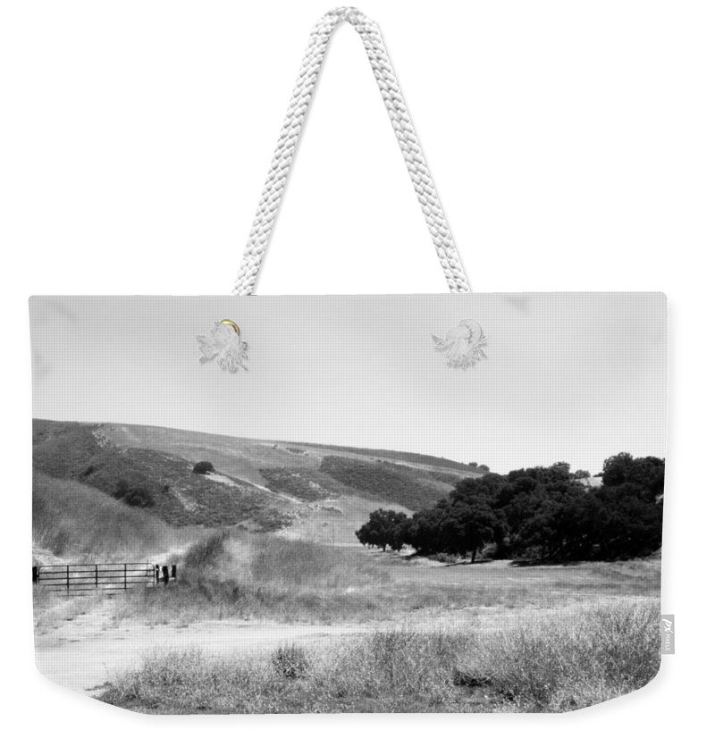 Los Alamos Weekender Tote Bag featuring the photograph Open Country by Kathleen Grace