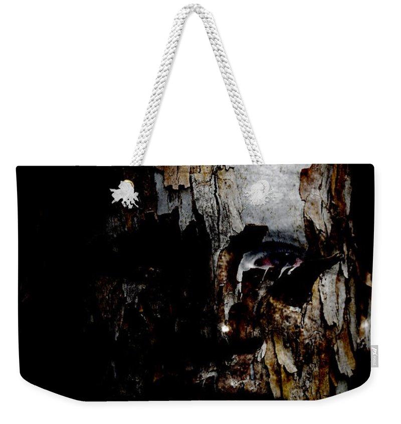 Organic Weekender Tote Bag featuring the painting Organic Metamorphosis by Christopher Gaston