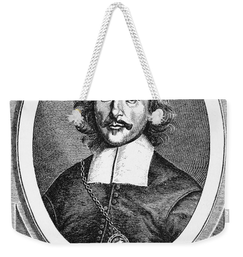 1672 Weekender Tote Bag featuring the photograph Otto Von Guericke (1602-1686) by Granger