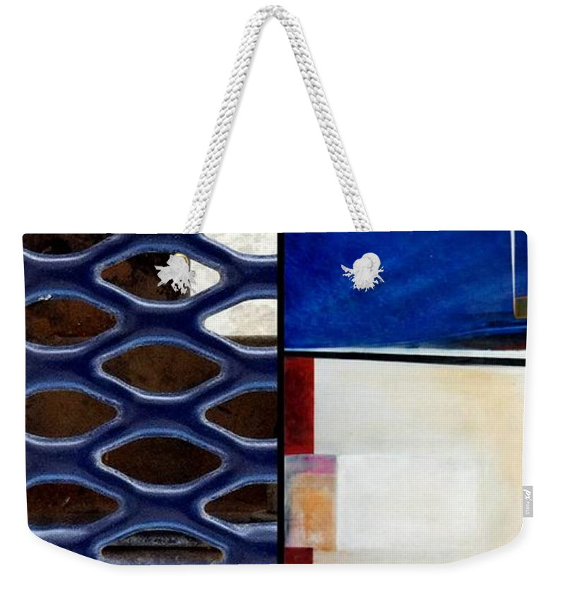 Marlene Burns Weekender Tote Bag featuring the painting p HOTography 66 by Marlene Burns