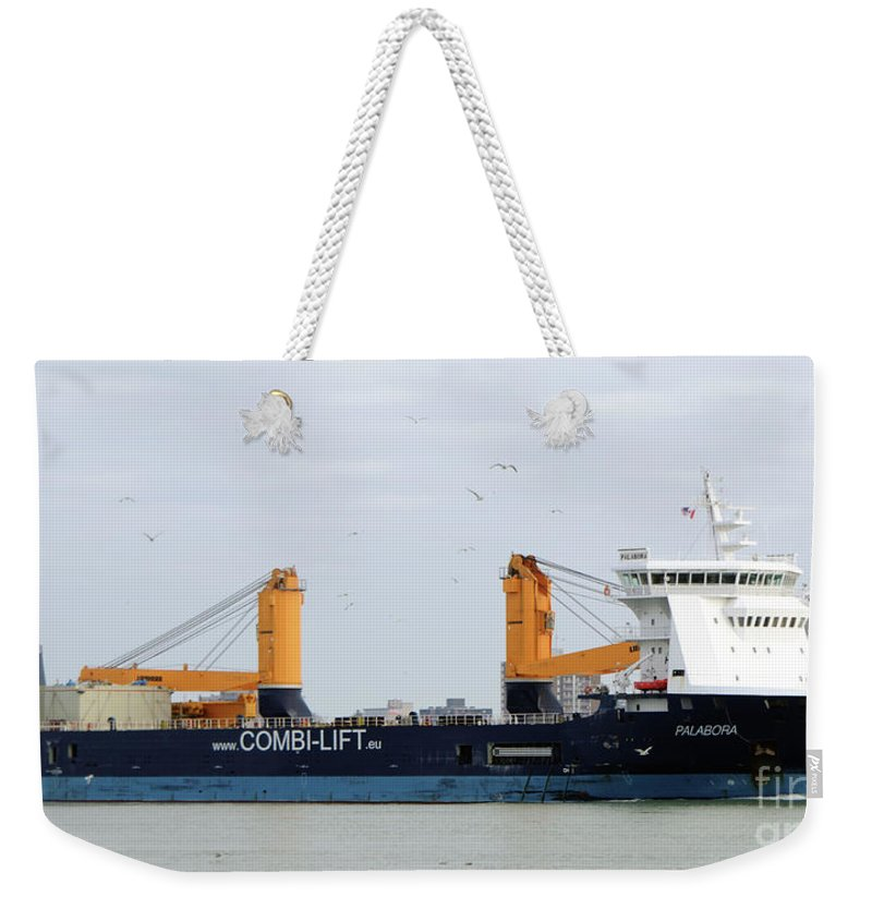 Ship Weekender Tote Bag featuring the photograph Palabora by Ronald Grogan