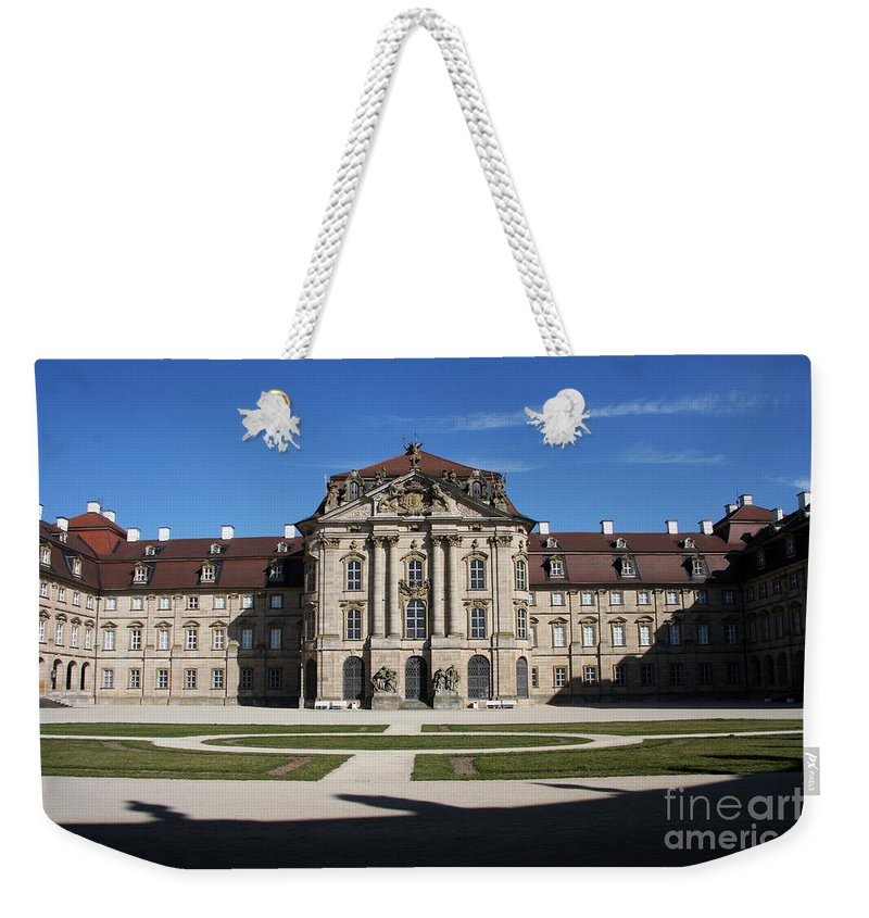 Palace Weekender Tote Bag featuring the photograph Palace Weissenstein by Christiane Schulze Art And Photography