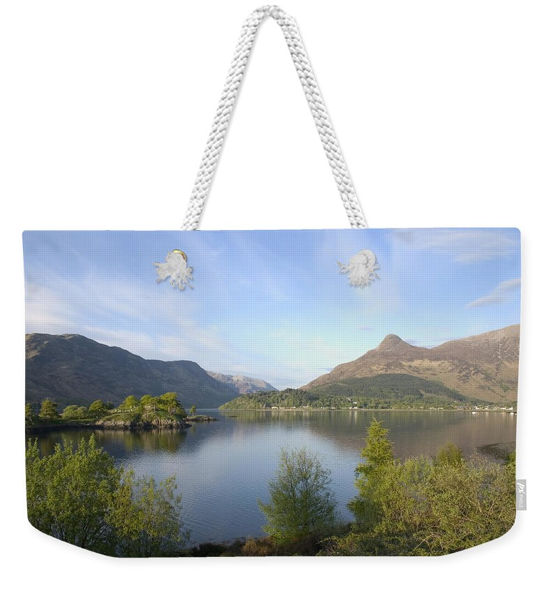 Scotland Weekender Tote Bag featuring the photograph Pap Of Glencoe by Pat Speirs