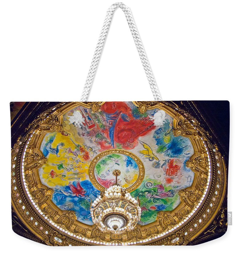 France Weekender Tote Bag featuring the photograph Paris Opera House II by Jon Berghoff