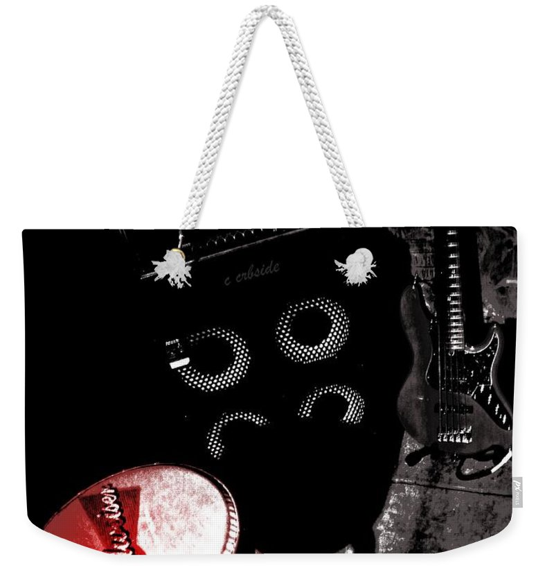 Musical Weekender Tote Bag featuring the photograph Pause For The Cause by Chris Berry