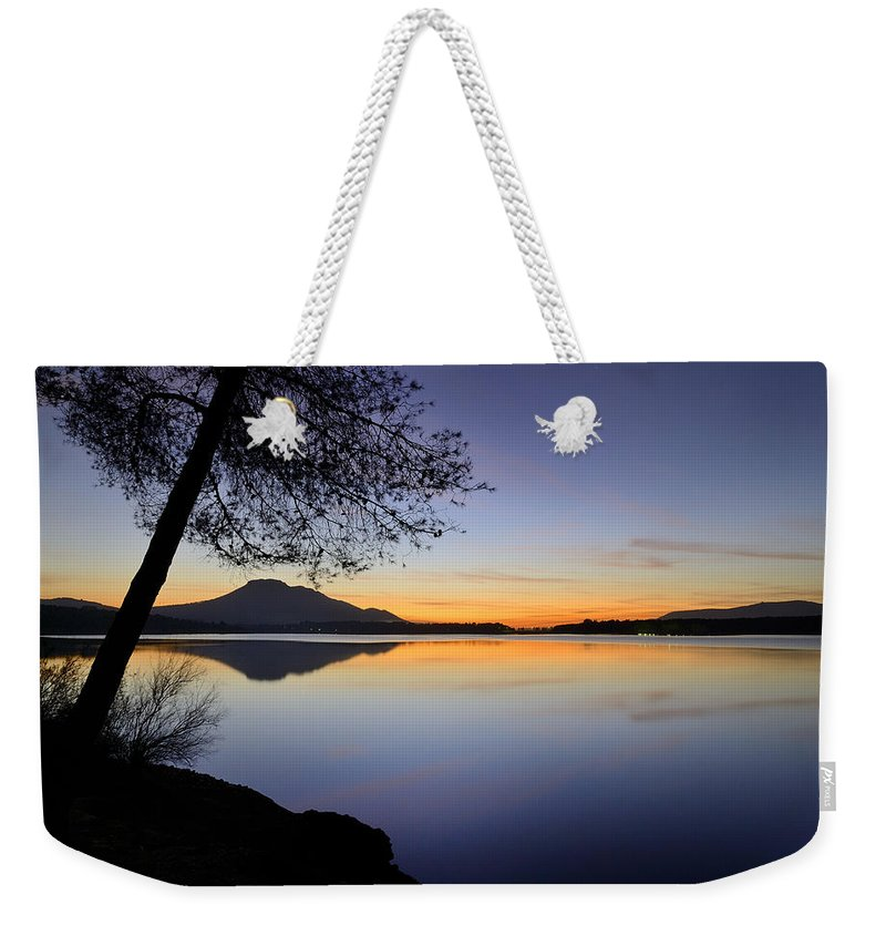 Landscape Weekender Tote Bag featuring the photograph Peace by Guido Montanes Castillo