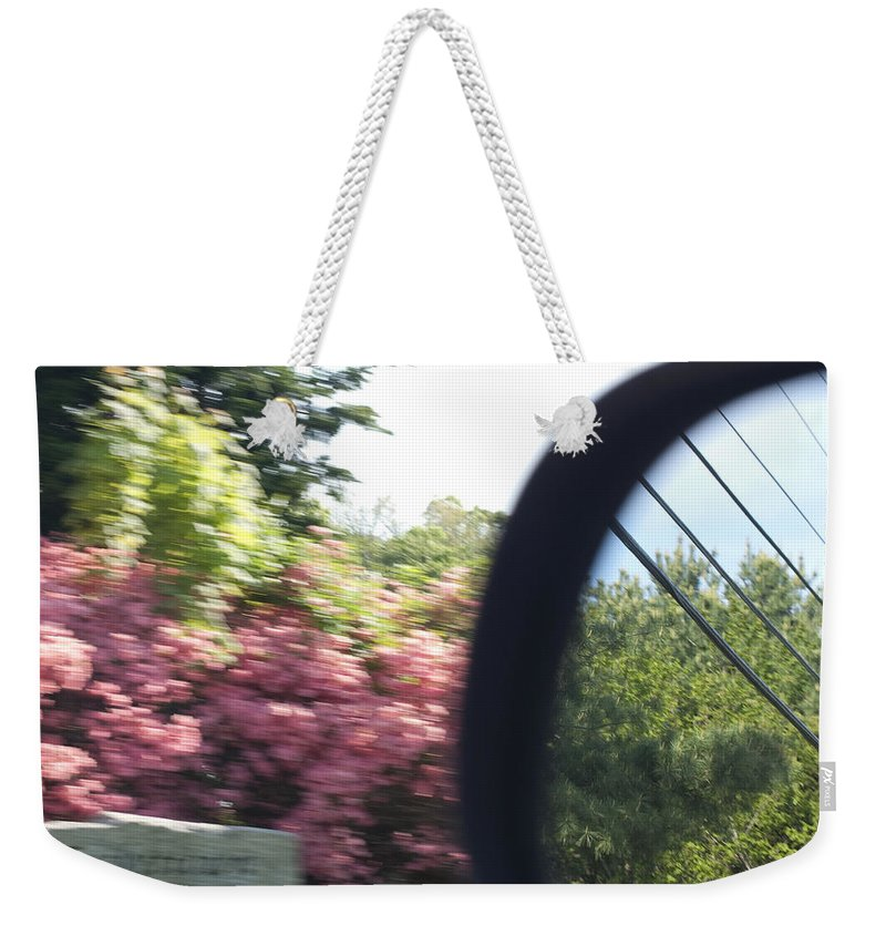 Photography Weekender Tote Bag featuring the photograph Perception Of Hindsight by Steven Natanson