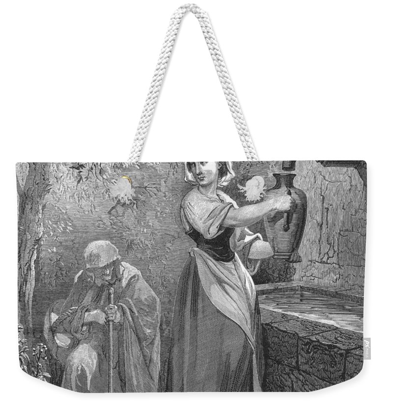 19th Century Weekender Tote Bag featuring the photograph Perrault: The Fairies by Granger