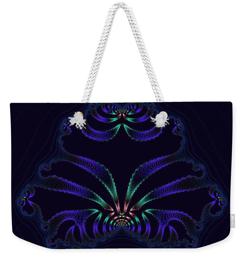 Xaos Weekender Tote Bag featuring the photograph Persian Medallion by Mother Nature