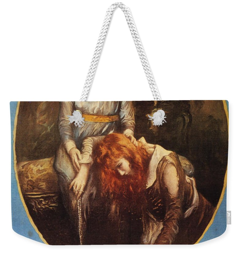 1917 Weekender Tote Bag featuring the photograph Pickford: Film Poster, 1917 by Granger