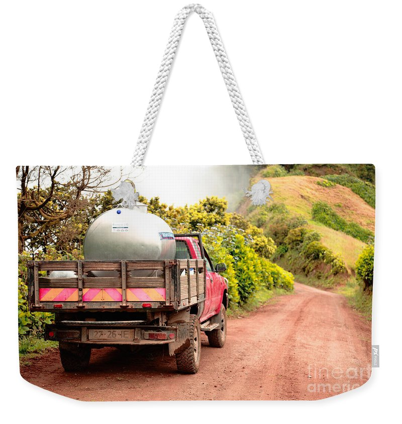 Truck Weekender Tote Bag featuring the photograph Pickup Truck by Gaspar Avila