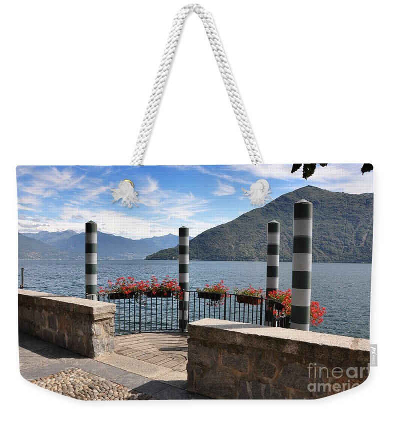 Pier Weekender Tote Bag featuring the photograph Pier by Mats Silvan