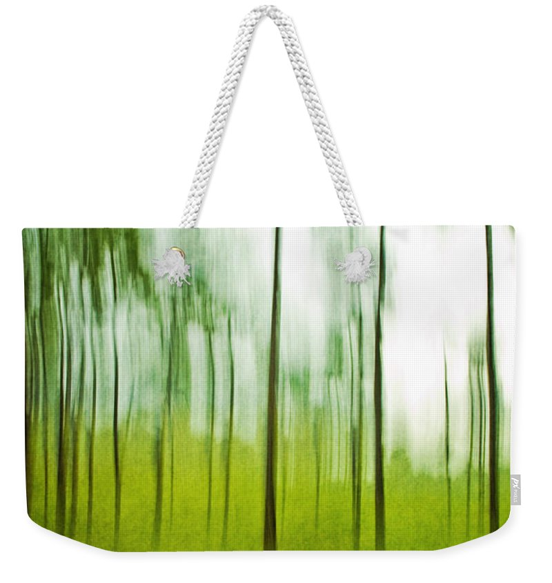Trees Weekender Tote Bag featuring the photograph Pines by Scott Pellegrin