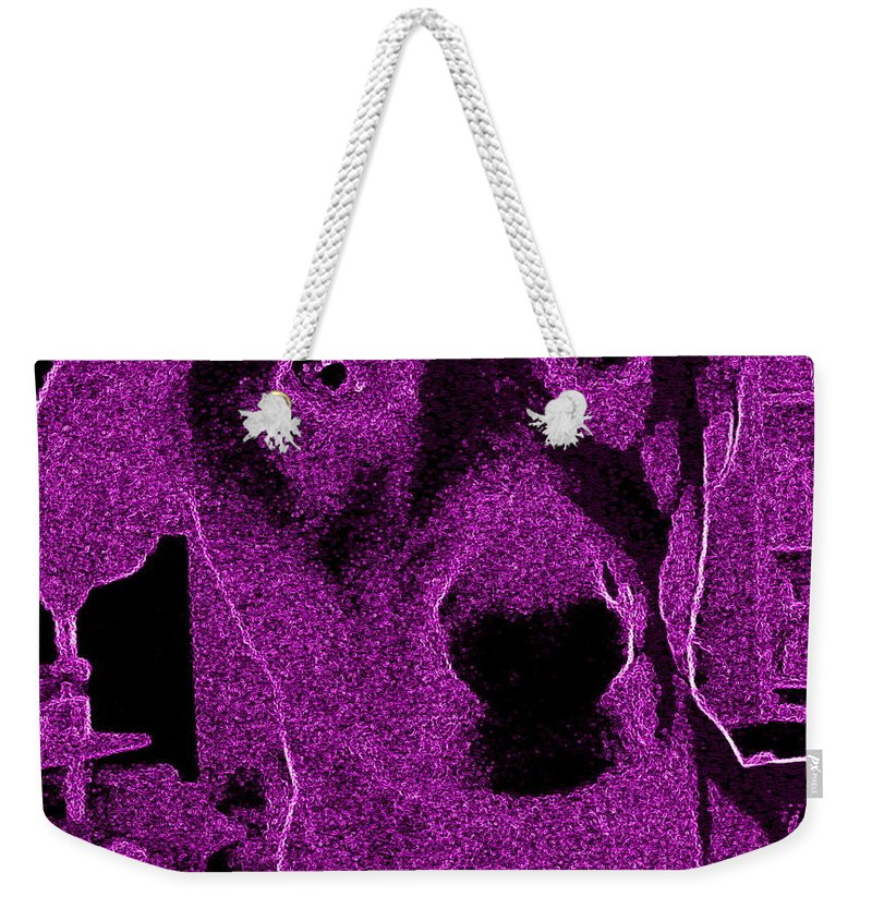 Pink Weekender Tote Bag featuring the photograph Pink Liberty by Amy Hosp