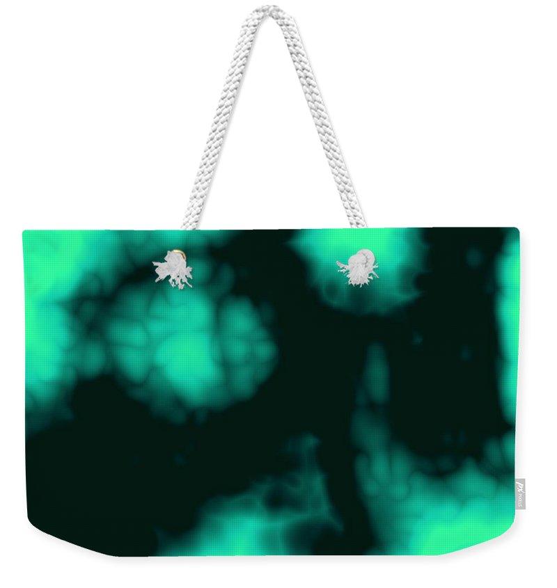 Dark Weekender Tote Bag featuring the digital art Piper Of Dreams by Christy Leigh