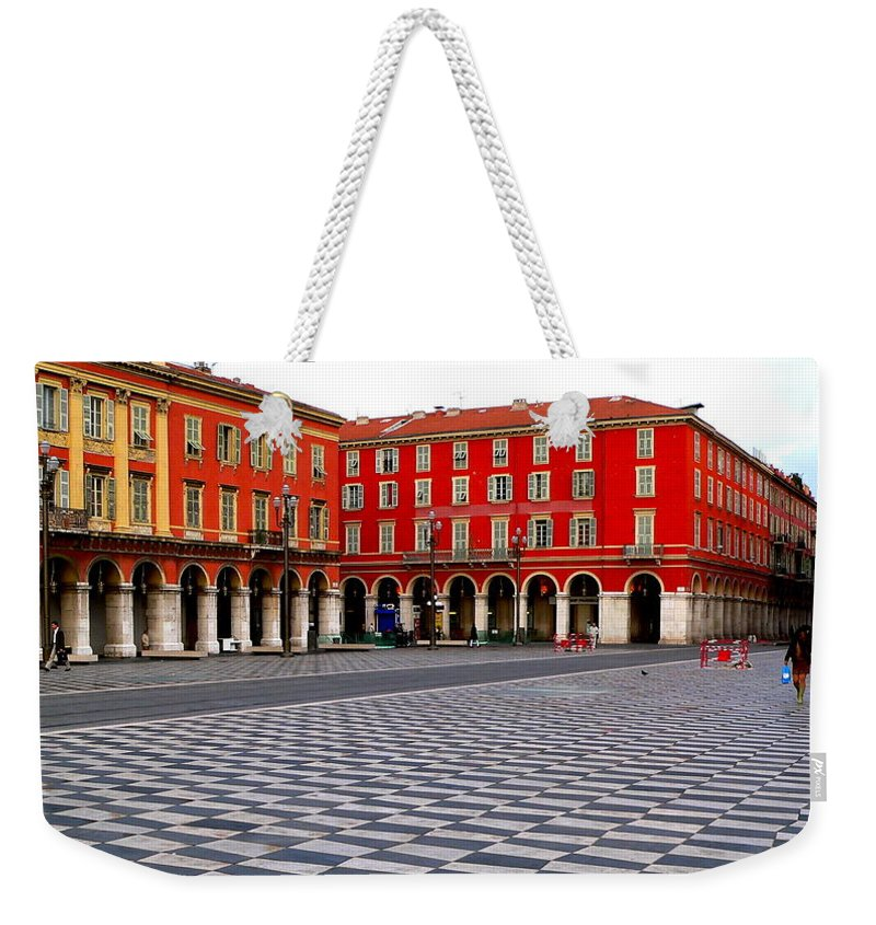 Place Massina Weekender Tote Bag featuring the photograph Place Massina by Eric Tressler