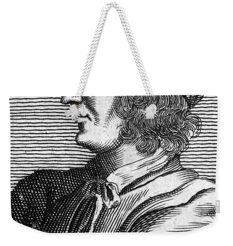 15th Century Weekender Tote Bag featuring the photograph Poggio Bracciolini by Granger