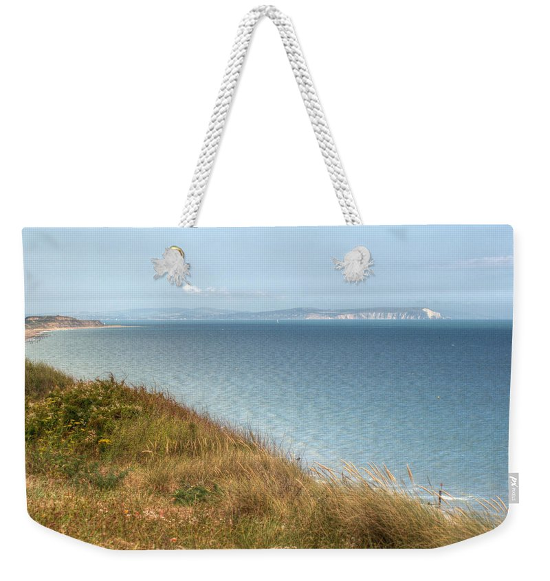 Isle Of Wight Weekender Tote Bag featuring the photograph Point To The Polar Bear by Chris Day