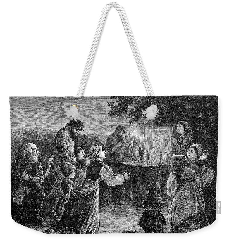 1873 Weekender Tote Bag featuring the photograph Poland: Cholera, 1873 by Granger