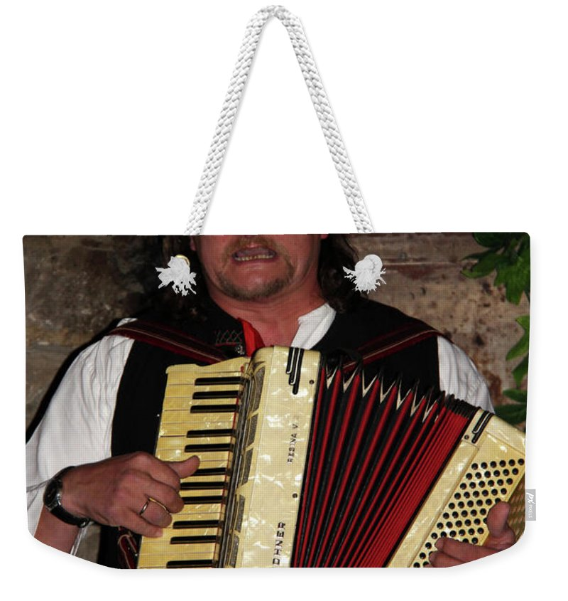 People Weekender Tote Bag featuring the photograph Polish Highlander by Mariola Bitner