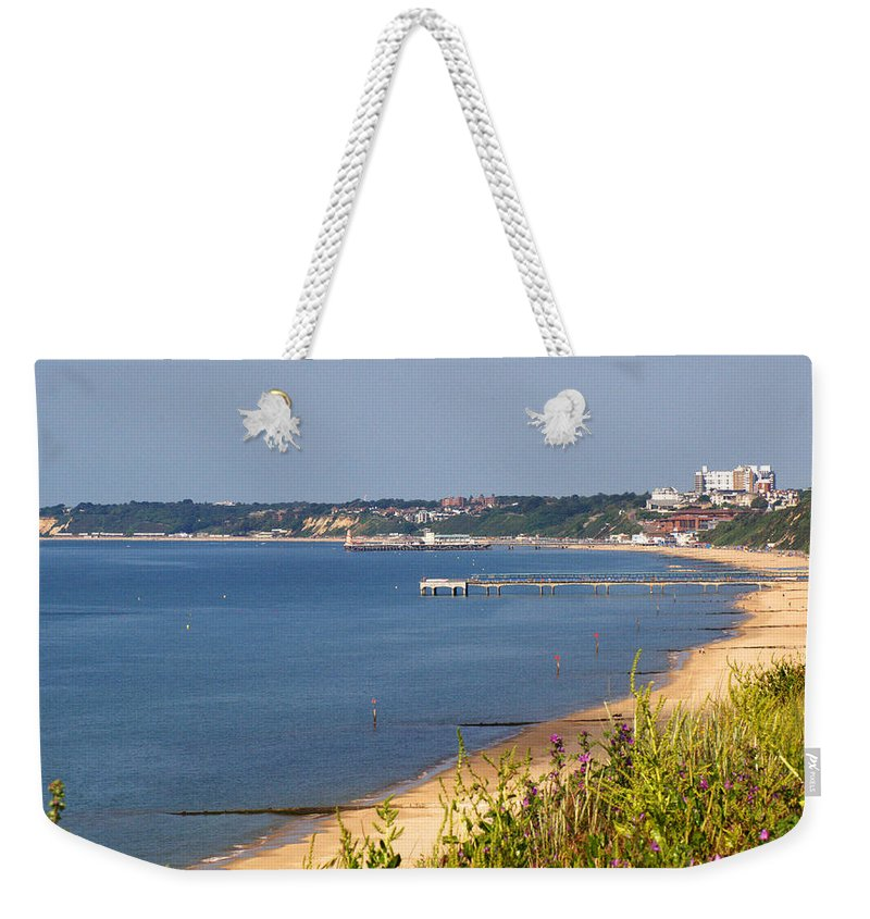 Poole Bay Weekender Tote Bag featuring the photograph Poole Bay - June 2010 by Chris Day