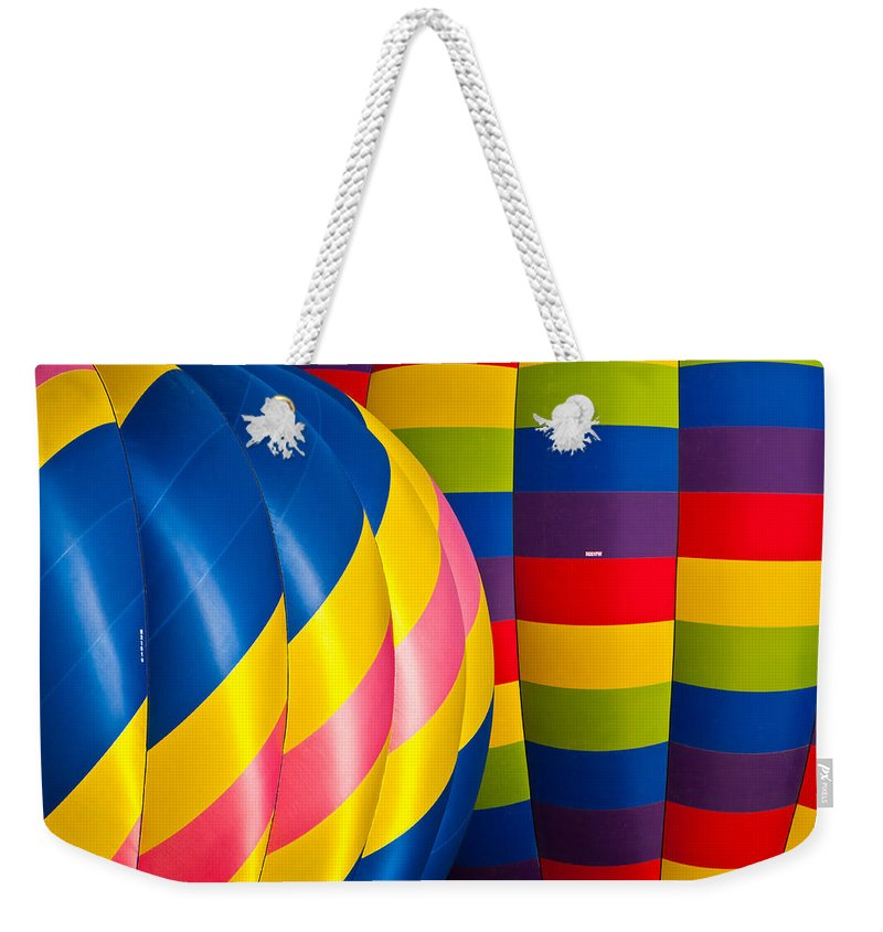 Hot Weekender Tote Bag featuring the photograph Pop Of Color by Colleen Coccia