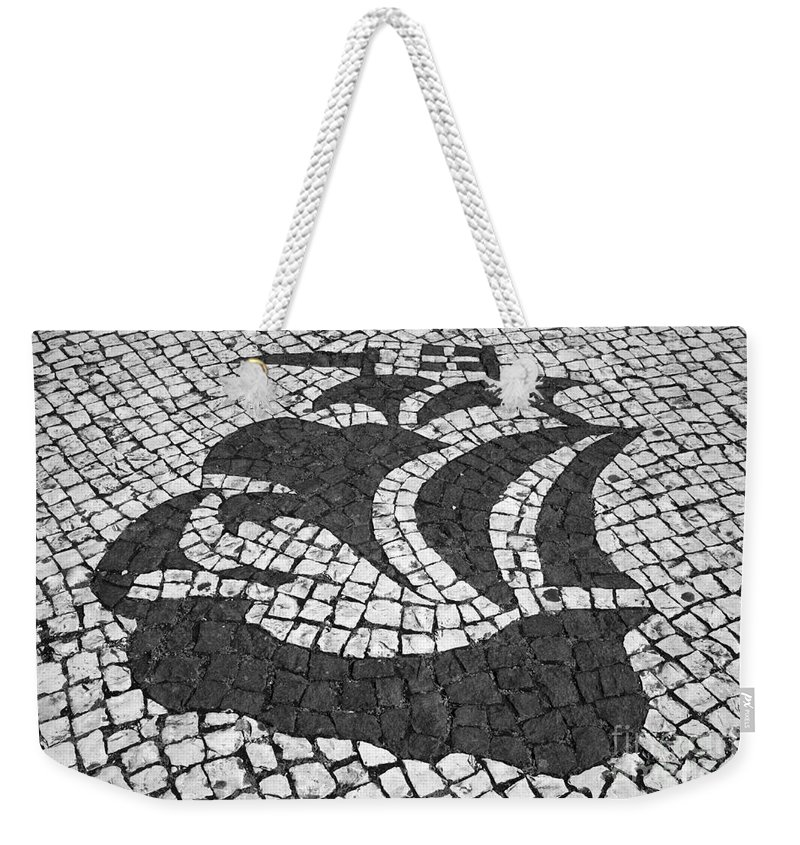 Portugal Weekender Tote Bag featuring the photograph Portuguese Caravel by Gaspar Avila