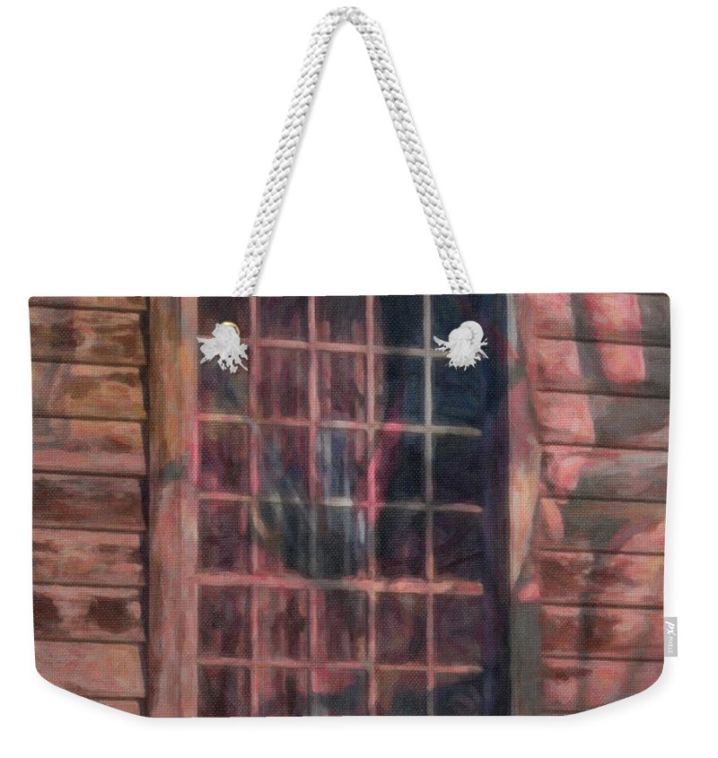Window Weekender Tote Bag featuring the photograph Potpourri by Trish Tritz