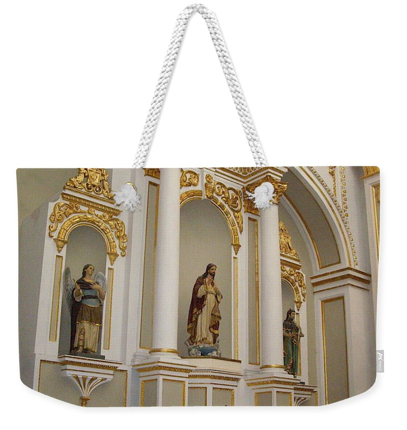 Aimee Mouw Weekender Tote Bag featuring the photograph Prayers Of The Faithful by Aimee Mouw
