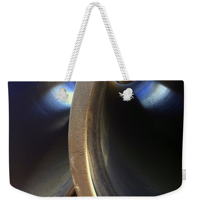 Marlene Burns Weekender Tote Bag featuring the photograph Preconstruction Eleven by Marlene Burns
