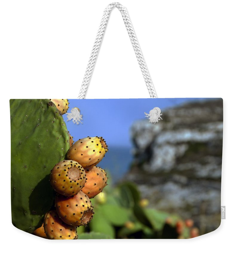 Ripen Weekender Tote Bag featuring the photograph Prickly Pears by Focus Fotos