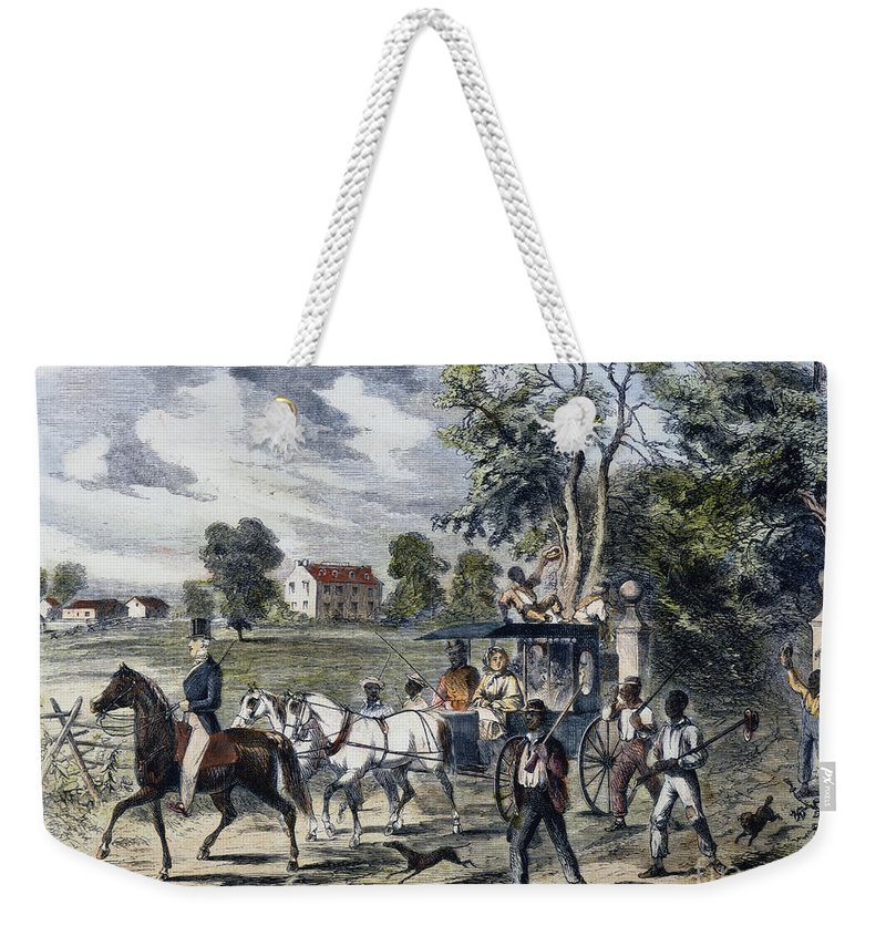1872 Weekender Tote Bag featuring the photograph Pro-union South, 1862 by Granger