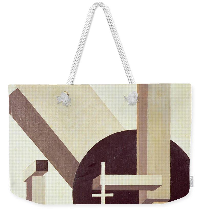 Cubic Weekender Tote Bags
