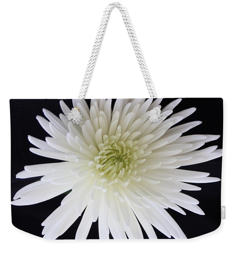 Purity Weekender Tote Bag featuring the photograph Purity by Kume Bryant