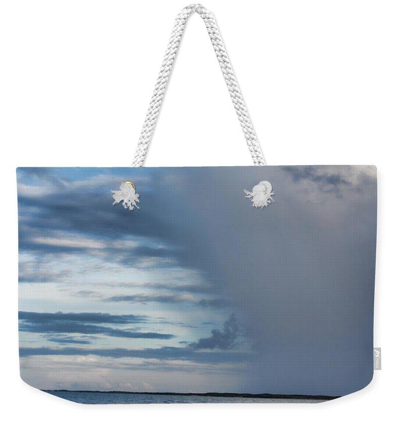 Rain Weekender Tote Bag featuring the photograph Rain Relief V2 by Douglas Barnard