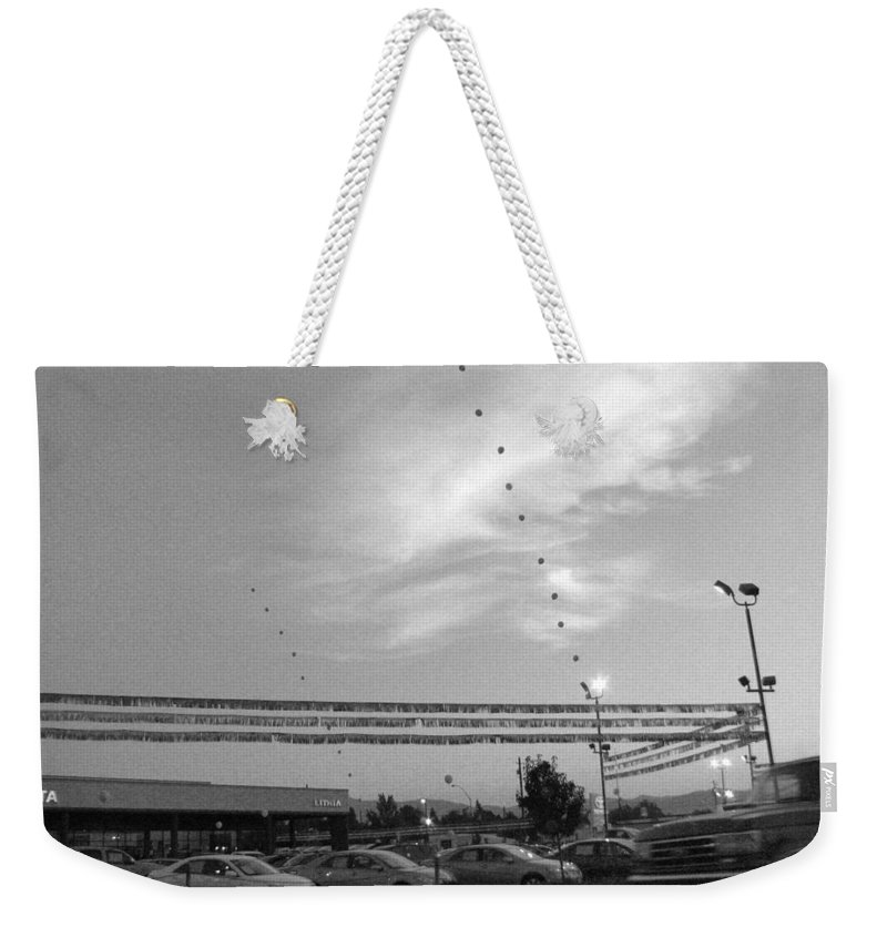 Urban Weekender Tote Bag featuring the photograph Reaching For The Sky by Kathleen Grace