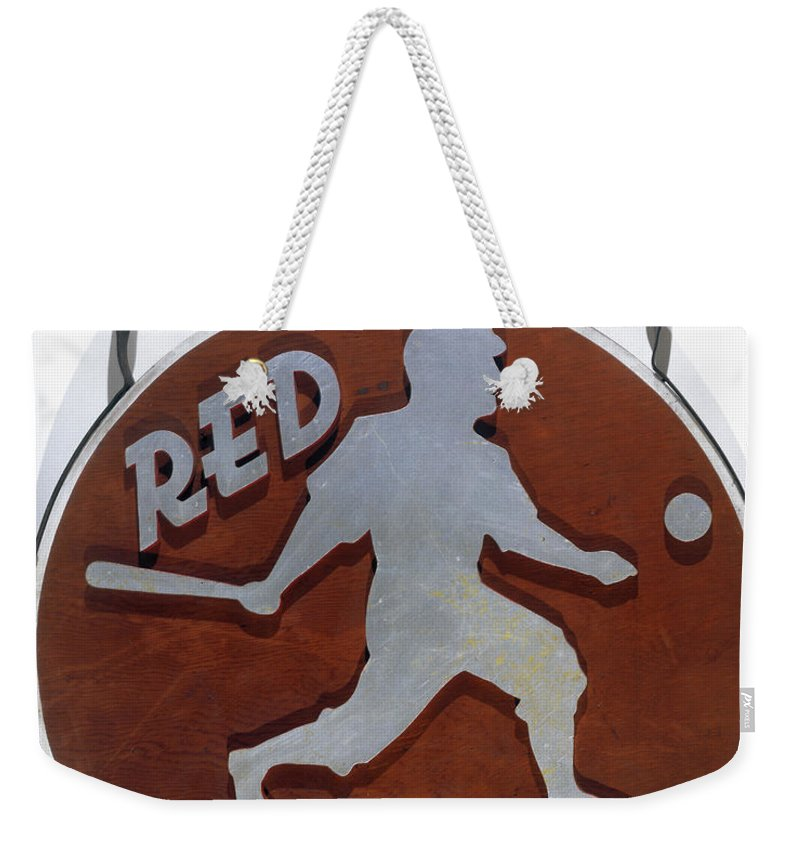 1930s Weekender Tote Bag featuring the photograph Red Rolfe (1908-1969) by Granger