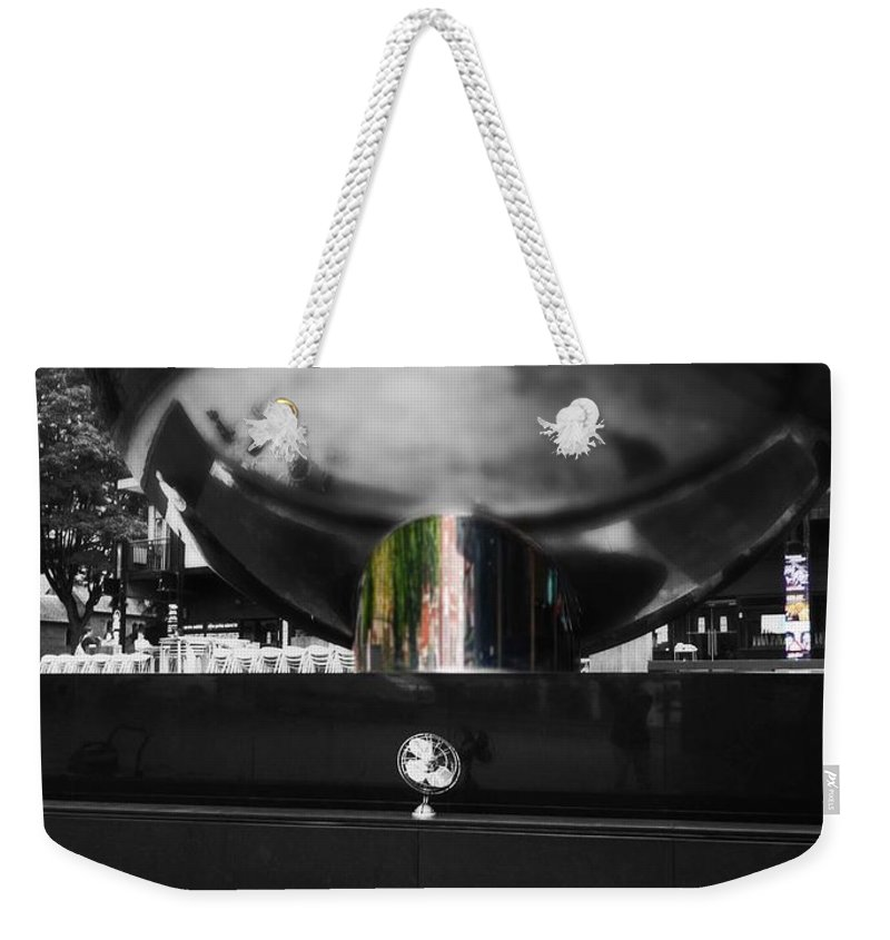 Fan Weekender Tote Bag featuring the photograph Reflect by Charles Stuart