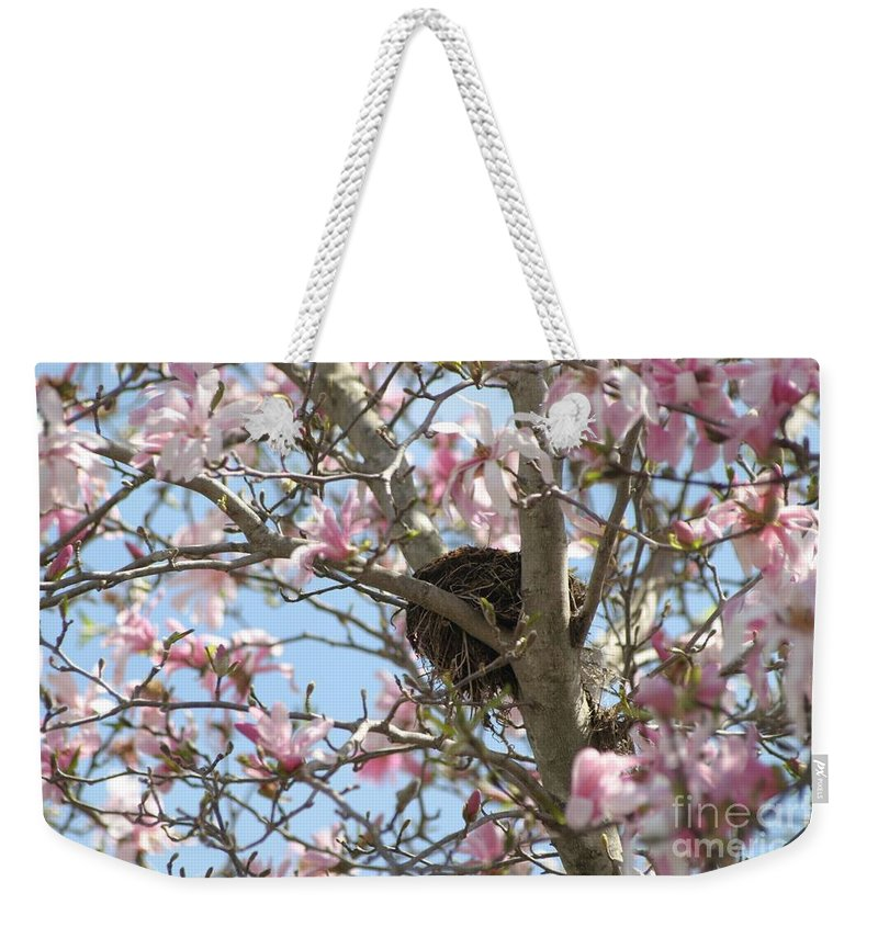 Spring Weekender Tote Bag featuring the photograph Renewal by Living Color Photography Lorraine Lynch