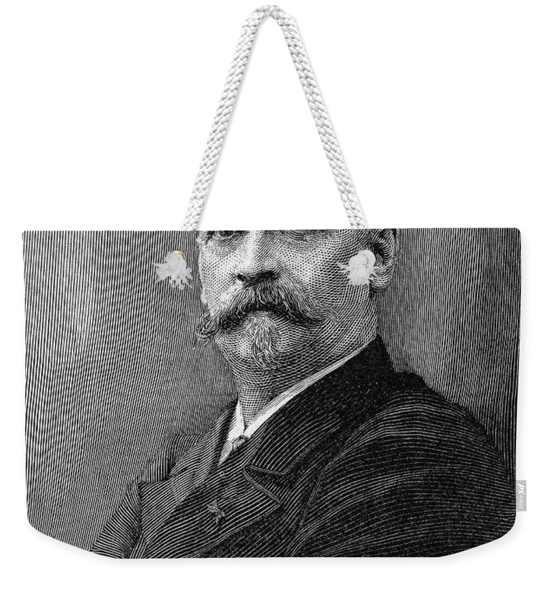 19th Century Weekender Tote Bag featuring the photograph Richard Morris Hunt by Granger
