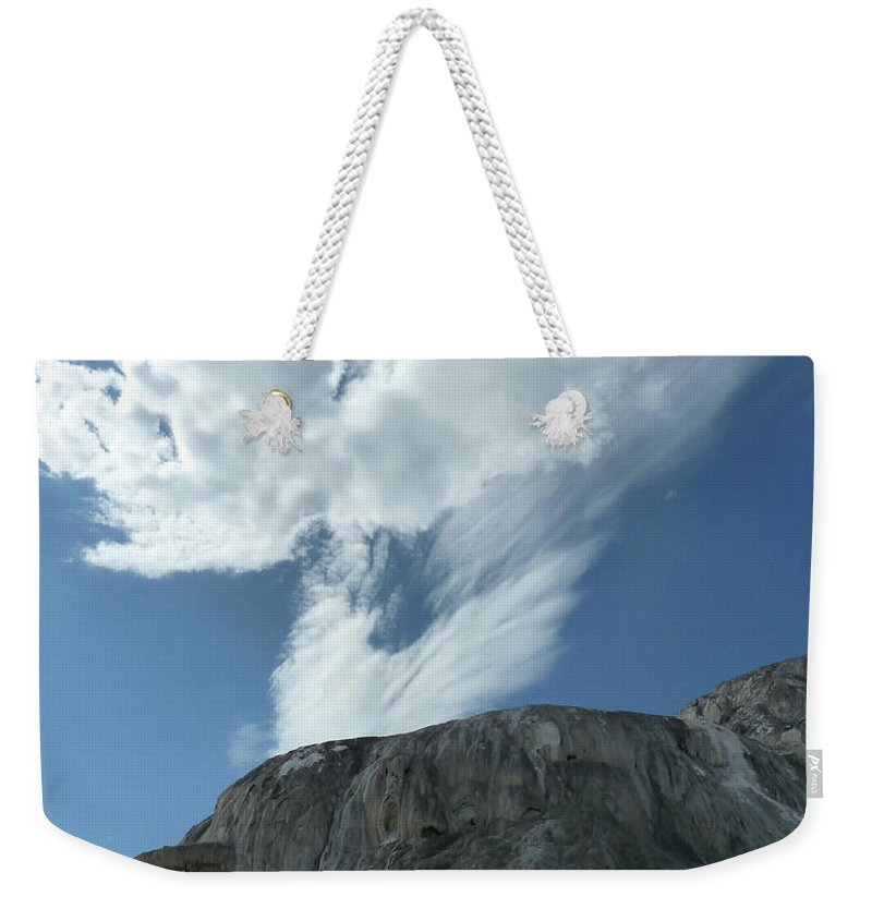 Landscape Weekender Tote Bag featuring the photograph Risen by Lauren Leigh Hunter Fine Art Photography