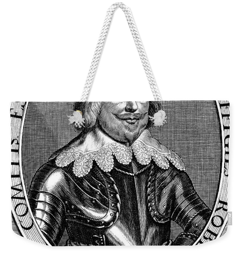 1643 Weekender Tote Bag featuring the photograph Robert Devereux (1591-1646) by Granger