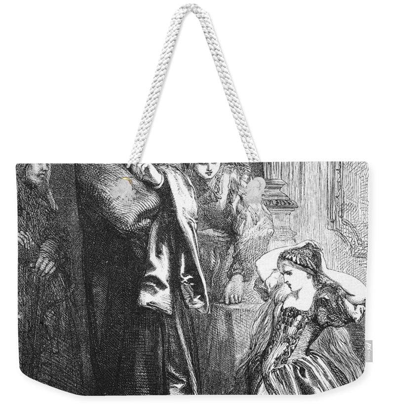 16th Century Weekender Tote Bag featuring the photograph Romeo And Juliet by Granger