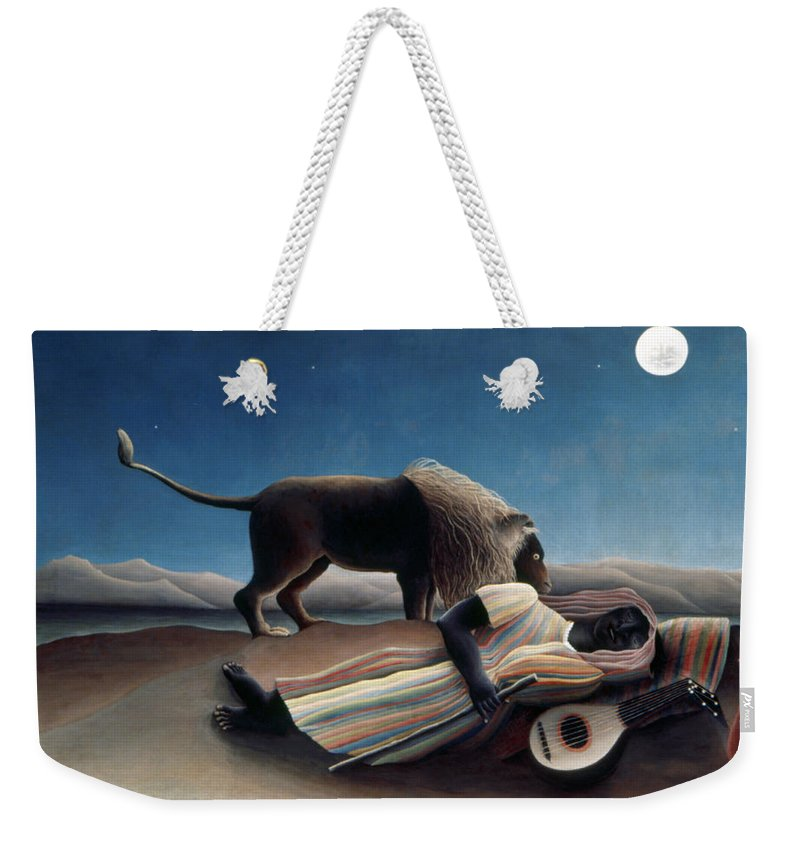 1897 Weekender Tote Bag featuring the photograph Rousseau: Gypsy, 1897 by Granger