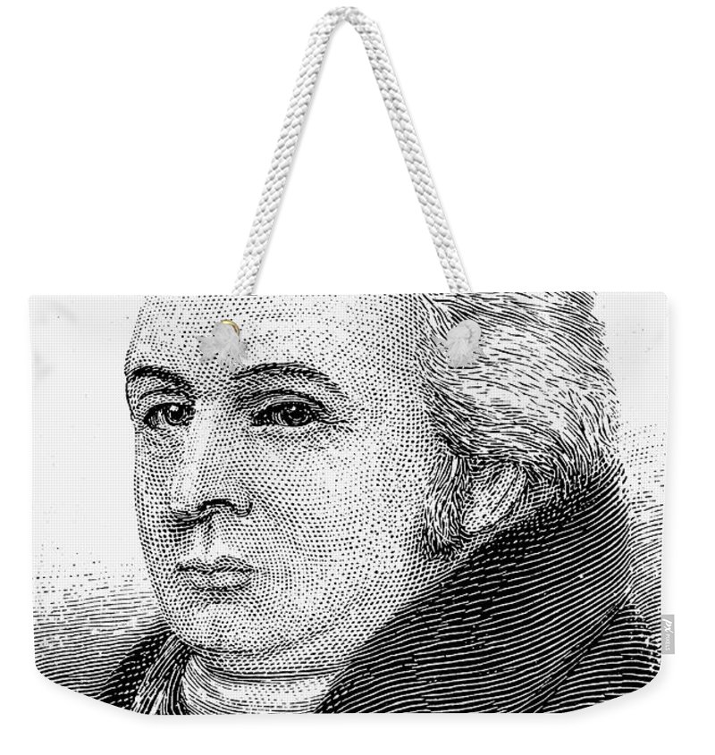 18th Century Weekender Tote Bag featuring the photograph Royall Tyler (1757-1826) by Granger