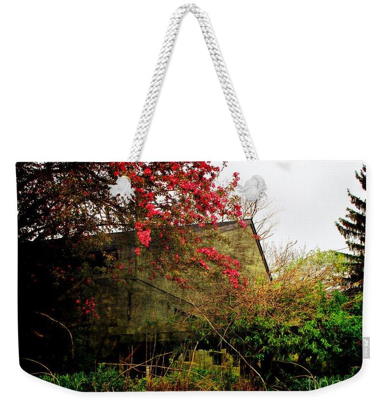 Spring Weekender Tote Bag featuring the photograph Rural America by Joan Minchak