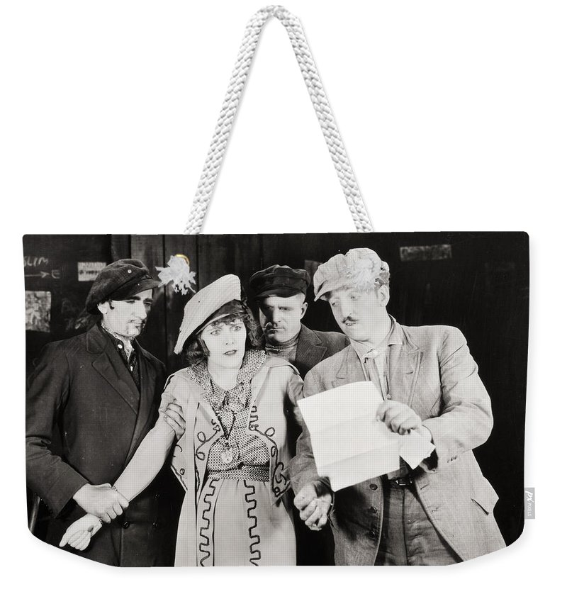 -groups & Mixed- Weekender Tote Bag featuring the photograph Ruth Of The Rockies, 1920 by Granger