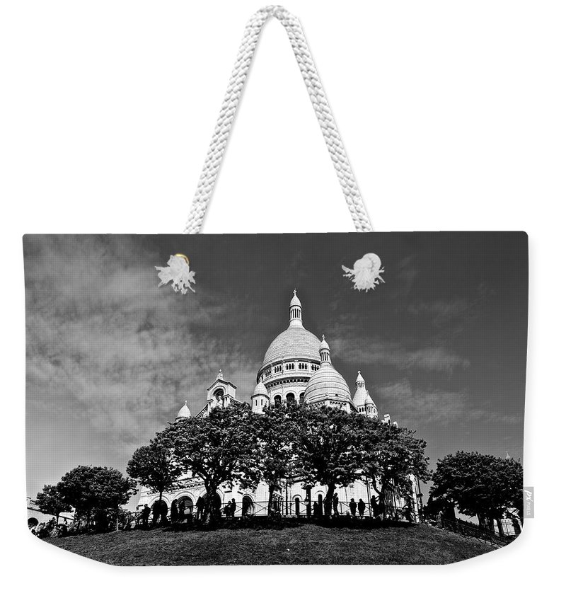 Sacre Coure Weekender Tote Bag featuring the photograph Sacre Coeur by Eric Tressler